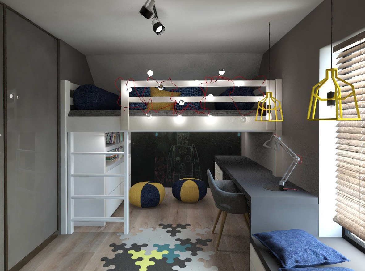 Loft beds mommo design for How to make a loft room