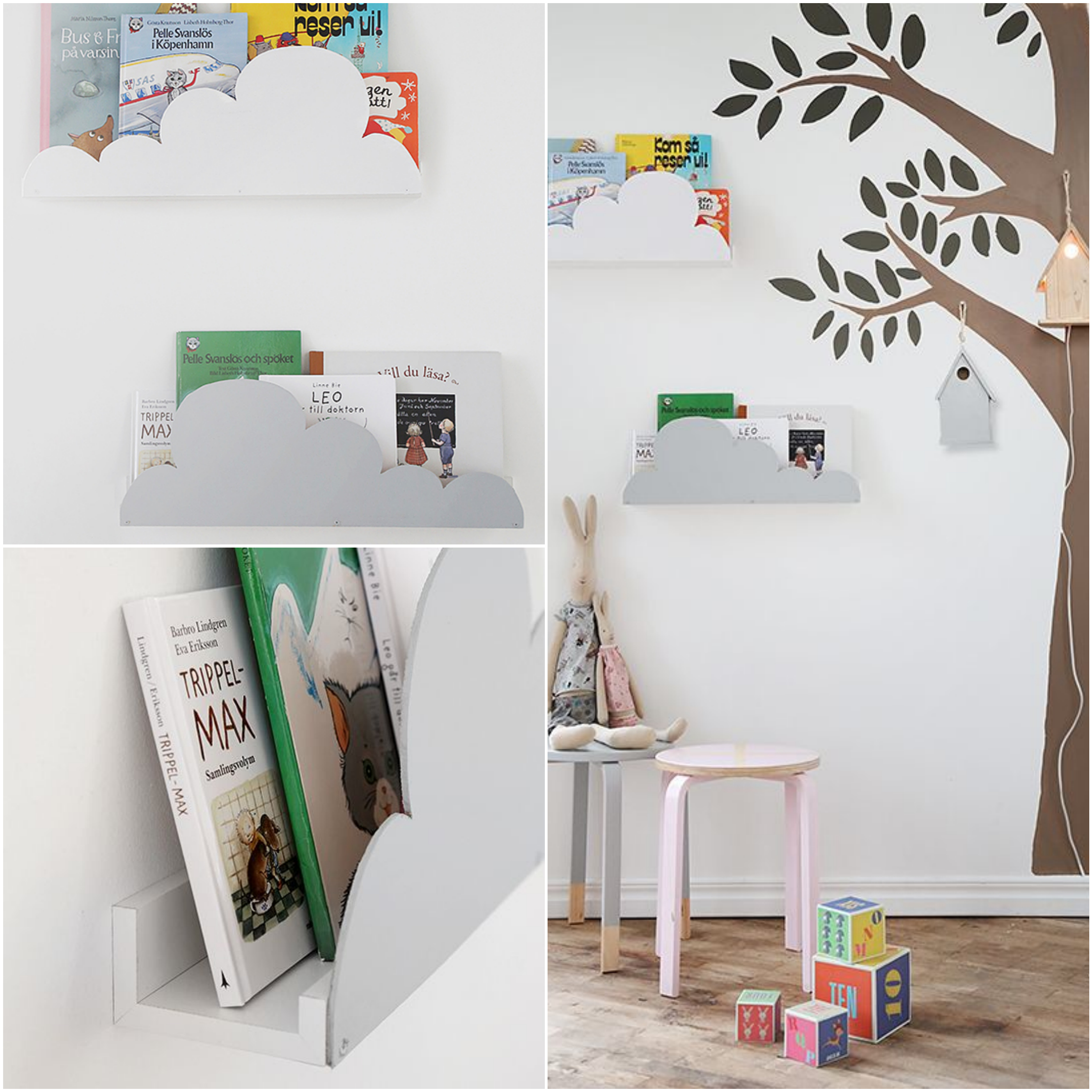 8 LITTLE IKEA HACKS  Mommo Design -> Ikea Wandregal Hack