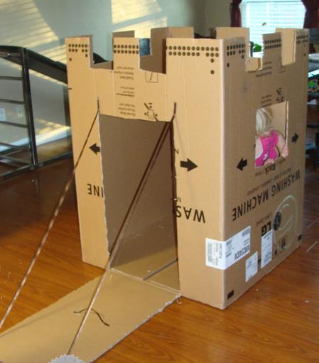 Огромная коробка своими руками