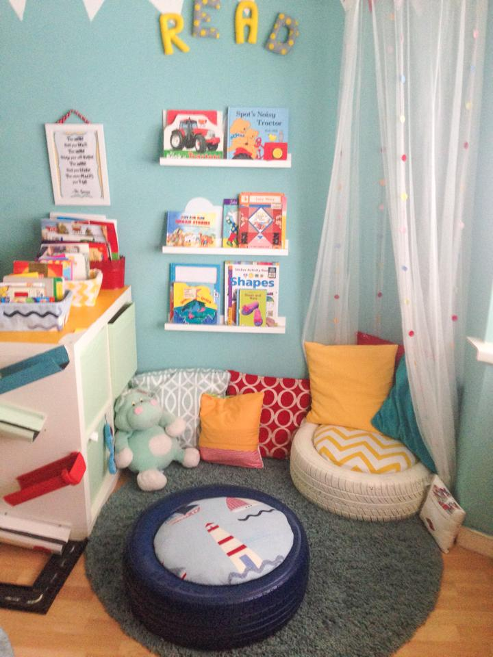 Reading Classroom Decor ~ Secret nooks to play read or dream mommo design