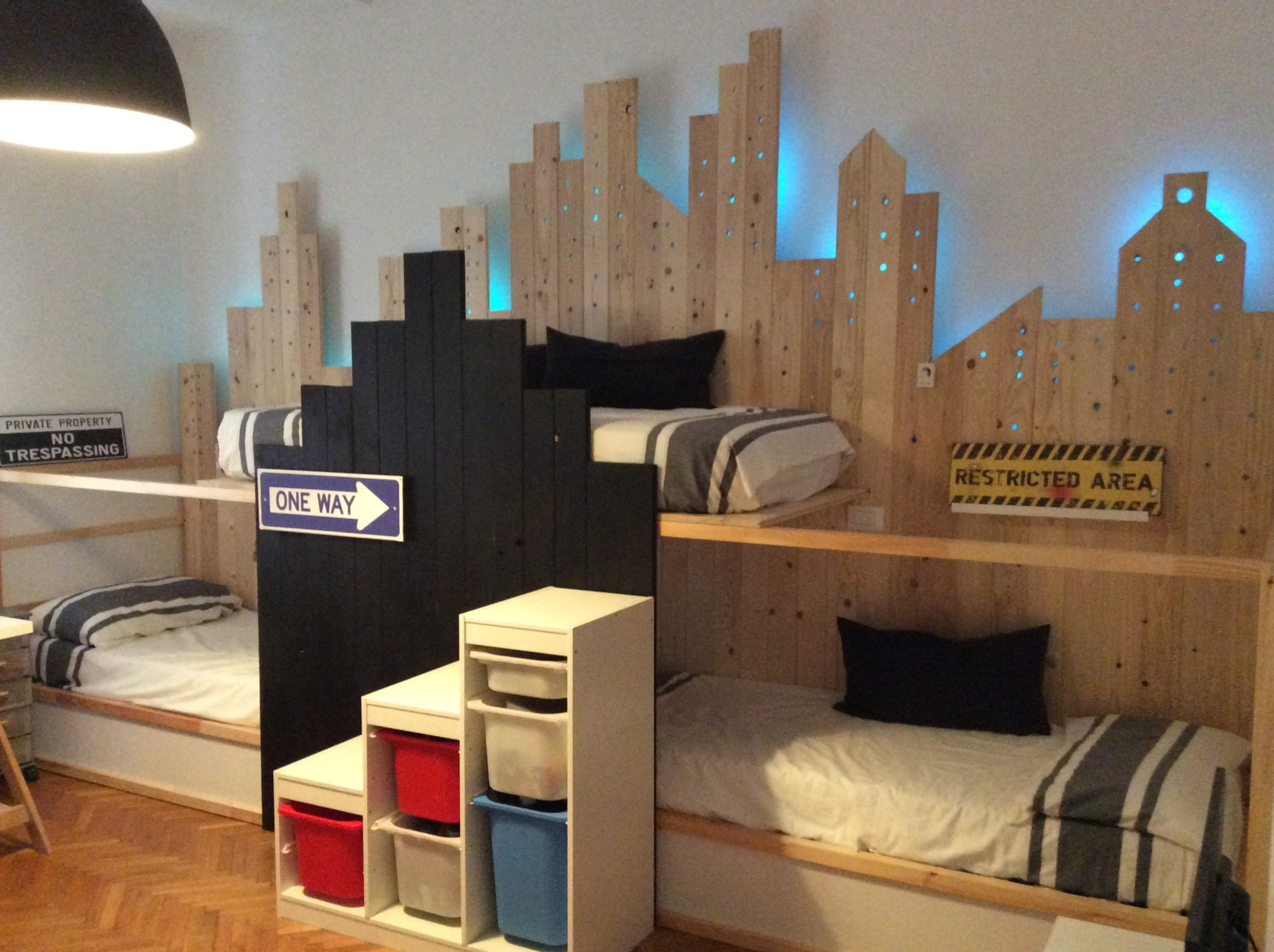 bunk beds ikea mommo bed hack design triple kura