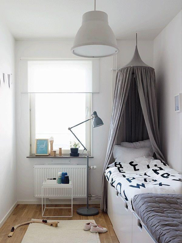 Grey in kids 39 rooms mommo design for Scandinavian childrens bedroom