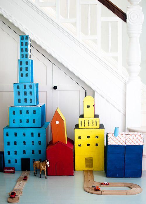 6 Diy Cardboard Toys Mommo Design