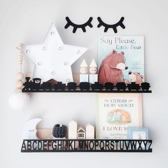 Trendy Shelves Mommo Design