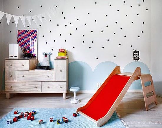 Ikea hacks for kids mommo design - Pintar habitacion infantil dos colores ...