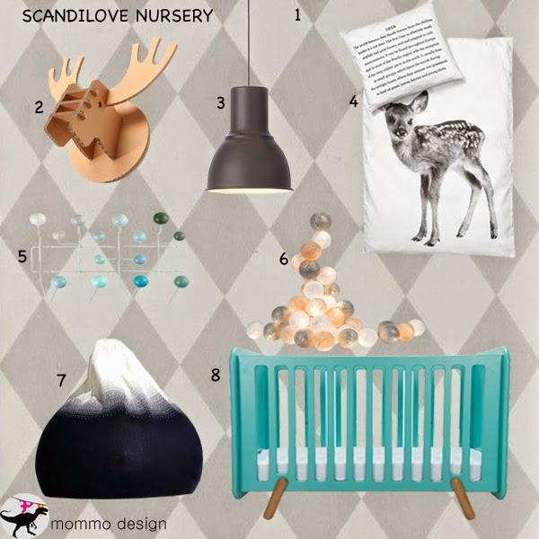 Moodboard Scandilove Nursery Mommo Design