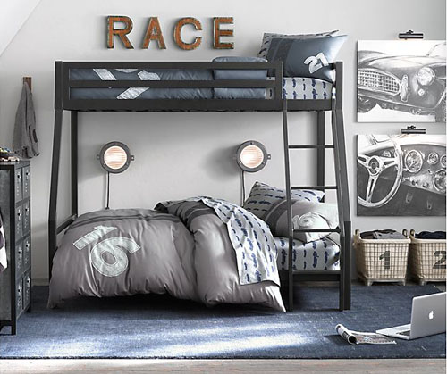 CAR THEMED ROOMS Mommo Design - Car themed bedrooms