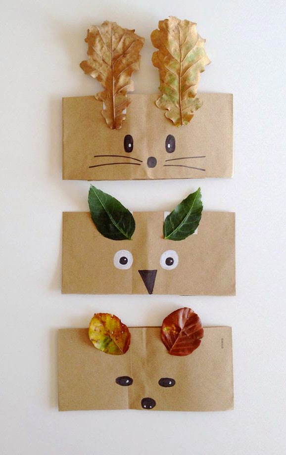 6 FALL LEAVES DIY PROJECTS | Mommo Design
