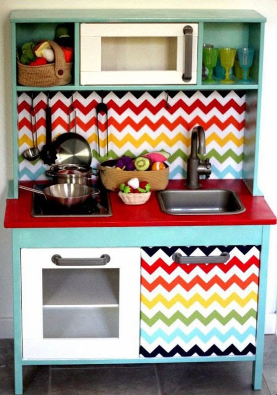 IKEA PLAY KITCHEN MAKEOVERS | Mommo Design