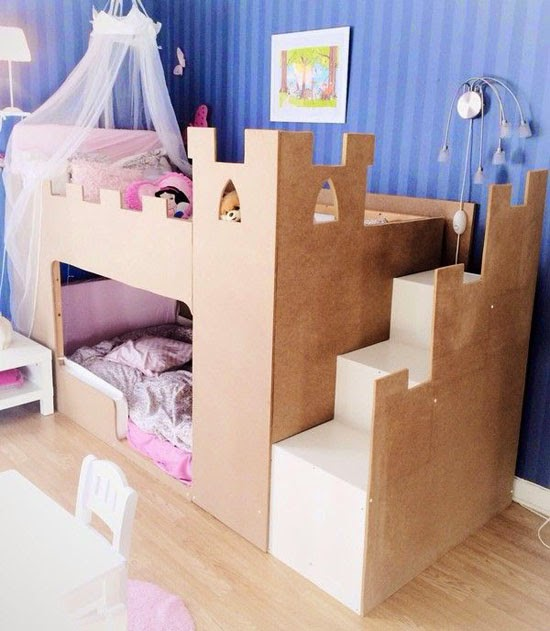 ikea hacks for kids mommo design. Black Bedroom Furniture Sets. Home Design Ideas