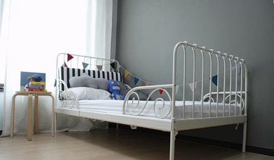 Ikea Floor Lamp Room Divider ~ IKEA MINNEN BED FOR BOYS  Mommo Design