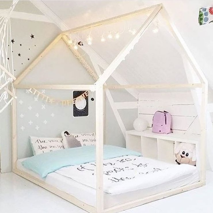 Kids beds mommo design for House frame floor bed plans