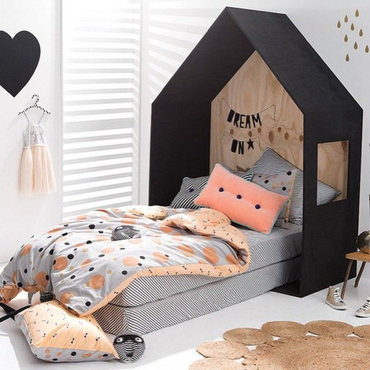 kids beds mommo design. Black Bedroom Furniture Sets. Home Design Ideas