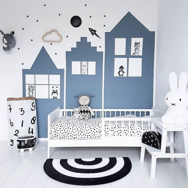 mommo design: BLUE ROOMS