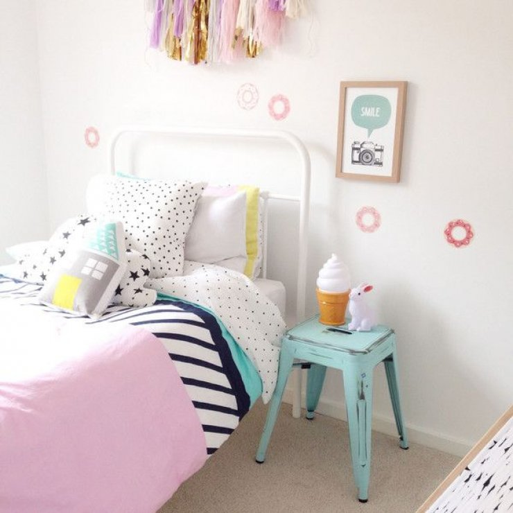 mommo design 8 sweet girls rooms