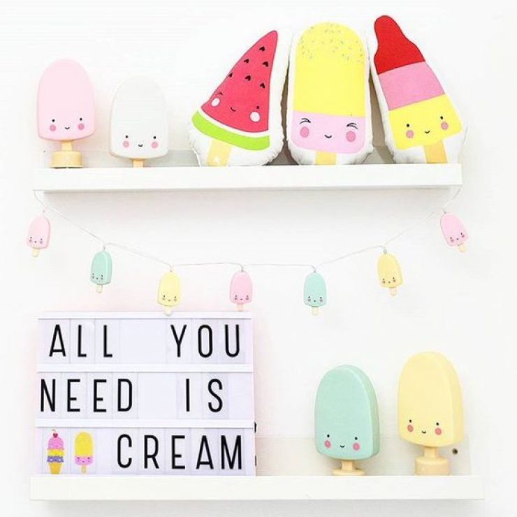 mommo design: ICE CREAM DECOR