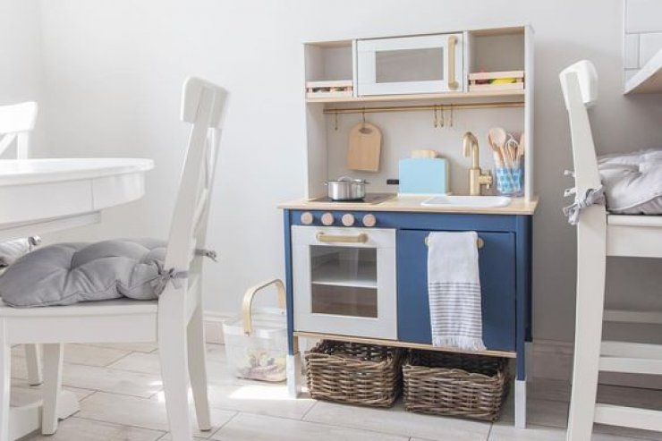 IKEA PLAY KITCHEN HACKS | Mommo Design