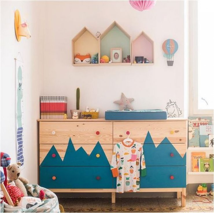Ikea hacks for kids mommo design for Room decor under 10