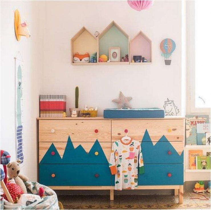 Kids Room Ikea Hacks: Ikea Kura Bed