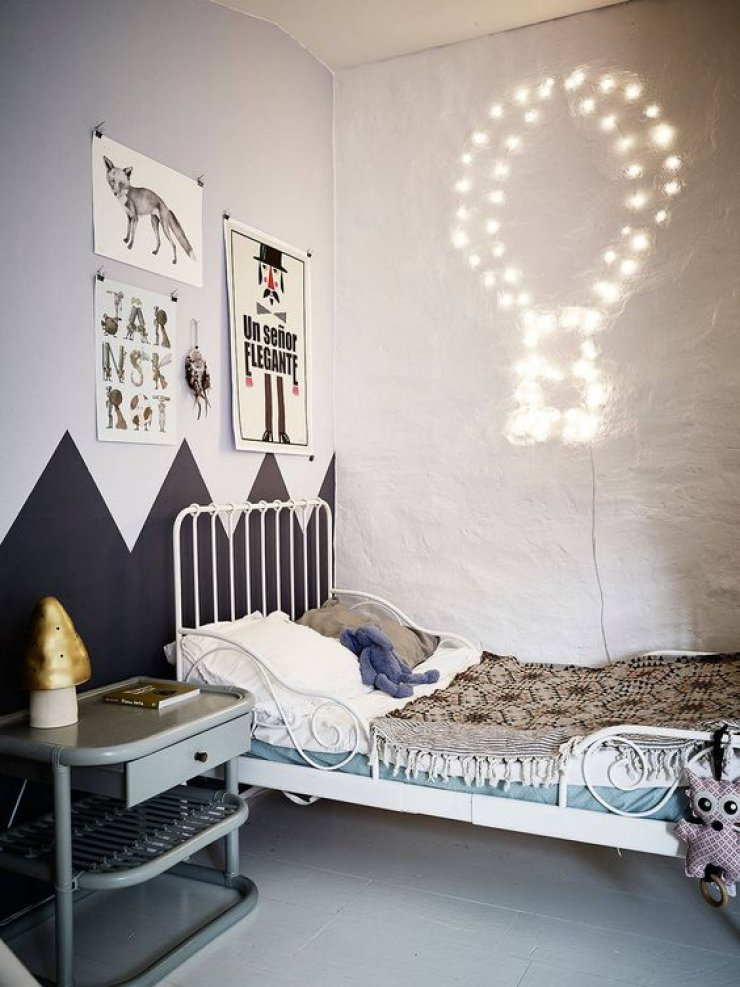mommo design: PLAY WITH STRING LIGHTS