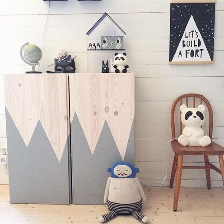 10 lovely ikea hacks mommo design - Meuble a peindre ikea ...