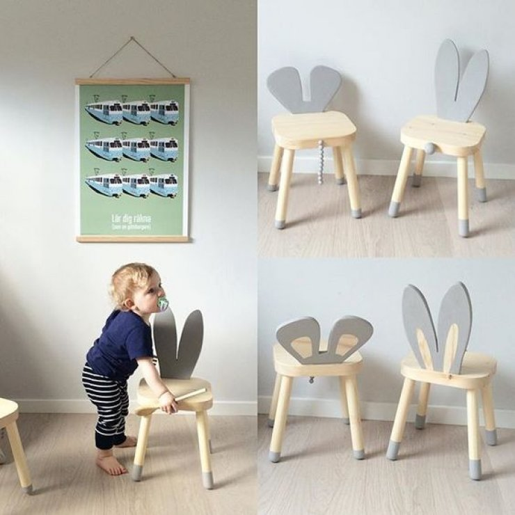 Kids Wooden Stool