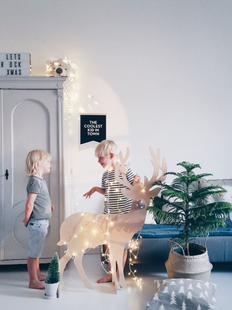 A Festive Touch In The Kid S Room Mommo Design