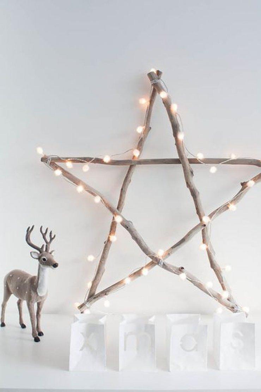diy twig star for christmas
