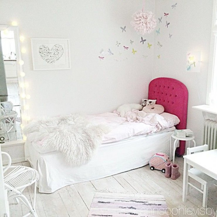 bright girly room