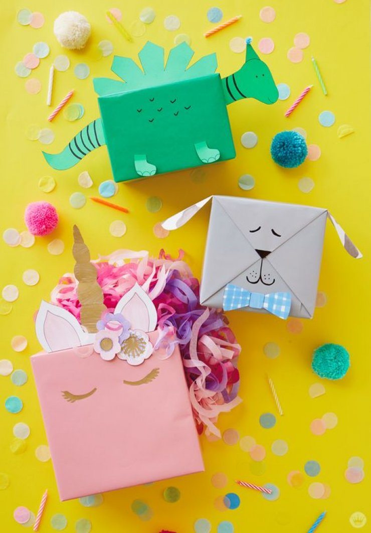 Cute Kids Gift Wrapping Ideas Mommo Design