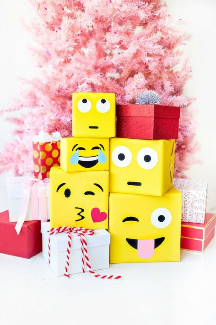 mommo design: CUTE KIDS GIFT WRAPPING IDEAS