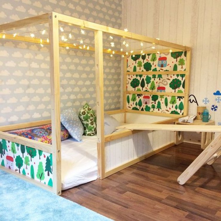 mommo design: IKEA KURA HACKS