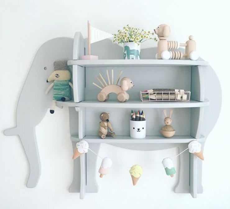 Animal Shaped Shelves Mommo Design