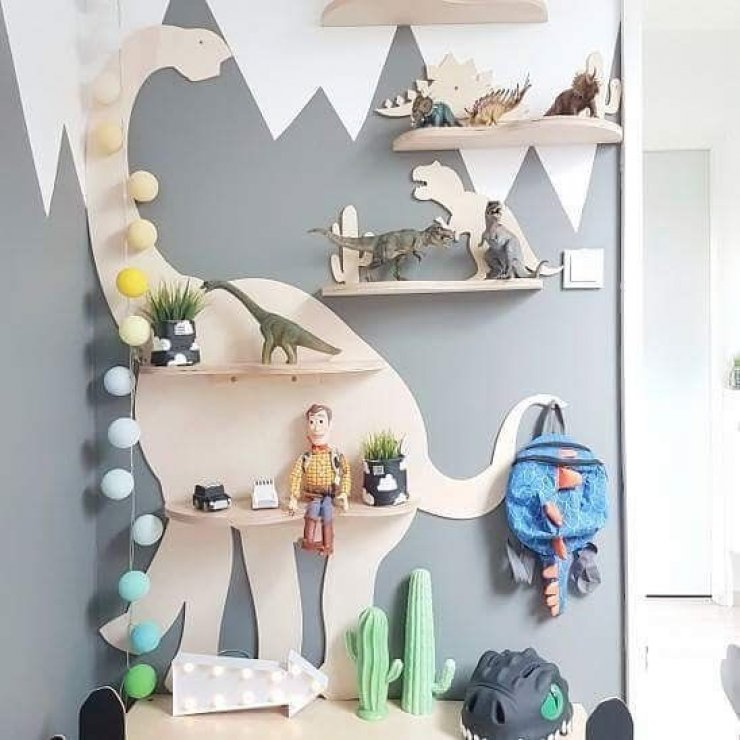 Pallet Bookshelf Kids Diy