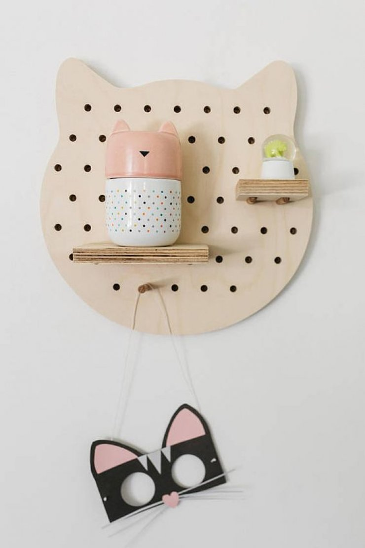 mommo design: ANIMAL SHAPED SHELVES