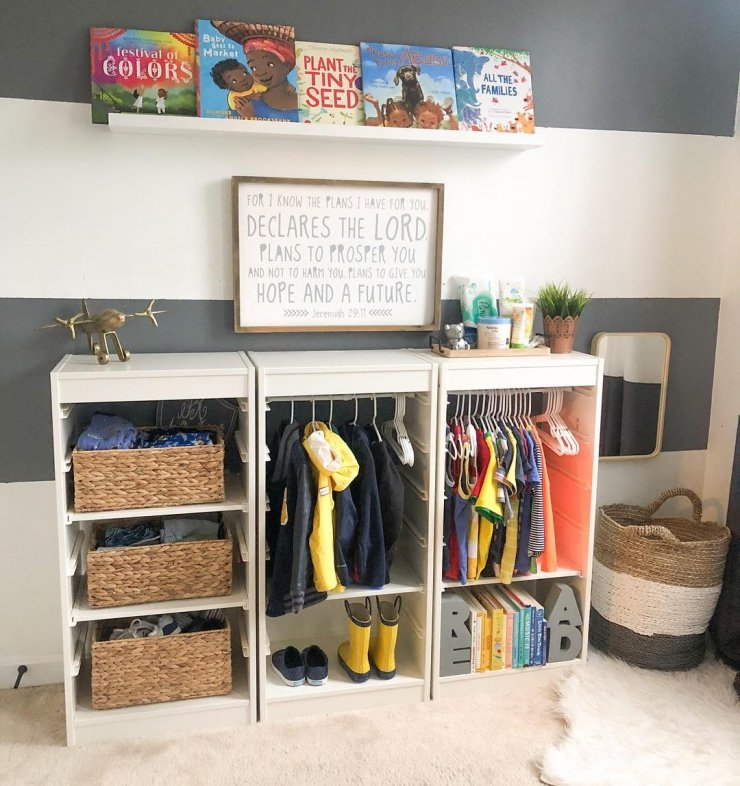 MONTESSORI DIY WARDROBES