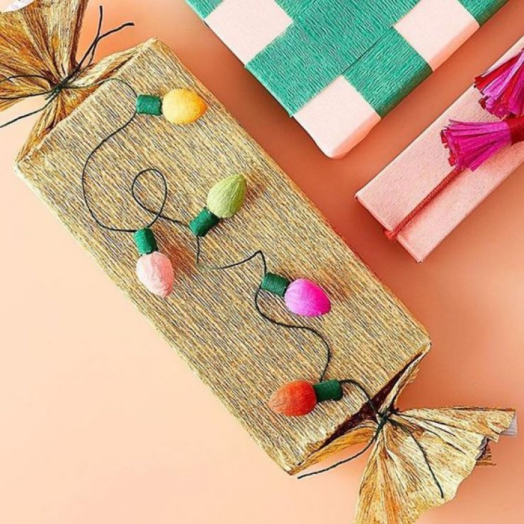 mommo design: 10 DIY GIFT WRAP IDEAS