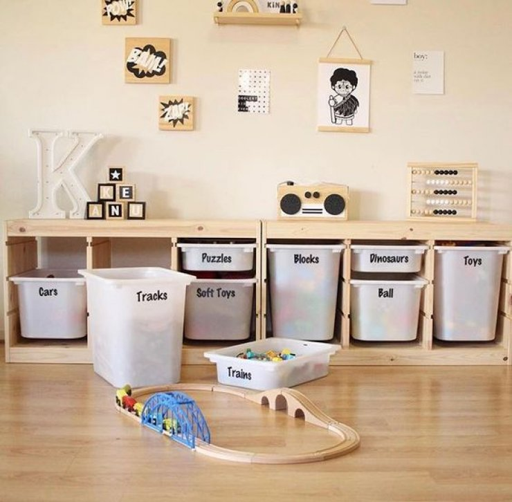 Trofast Playroom Diy