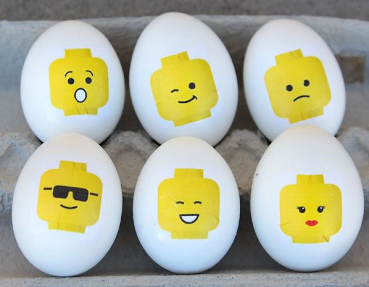 Diy Lego Easter Eggs