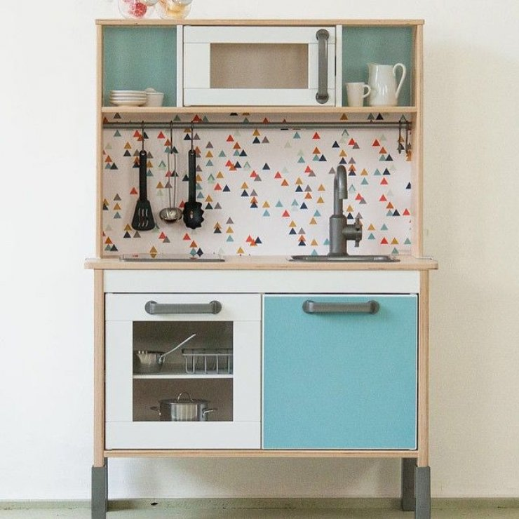 6 ikea duktig hacks mommo design - Mini cocina ikea ...