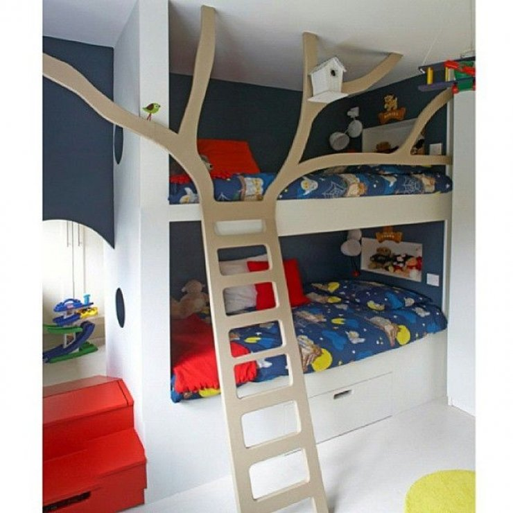 8 cool bunk beds mommo design - Cool loft bed designs ...