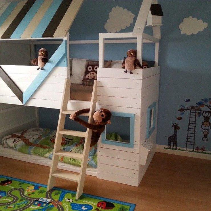 mommo design 8 ways to customize ikea kura bed - Ikea Bunk Bed