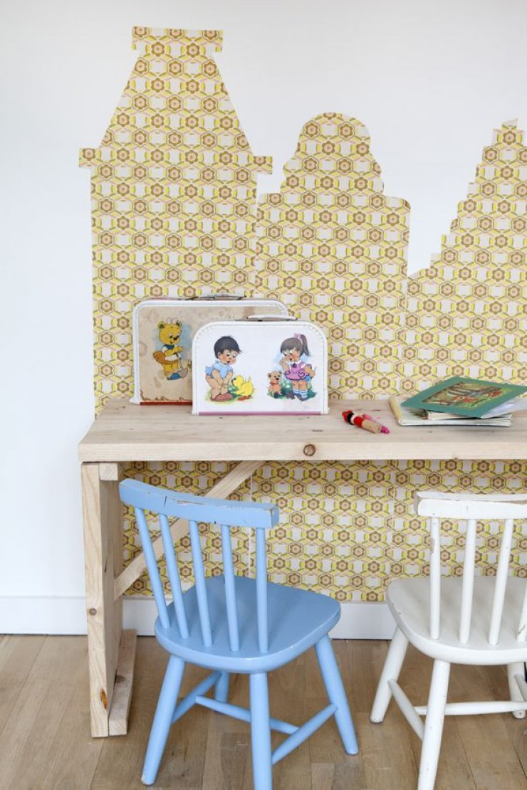 mommo design: 8 DIY WALLPAPER IDEAS