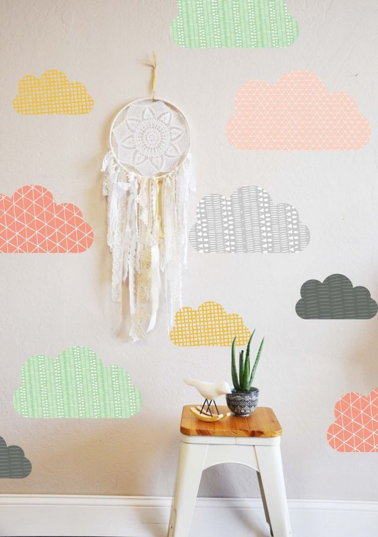 Mommo Design 8 DIY WALLPAPER IDEAS