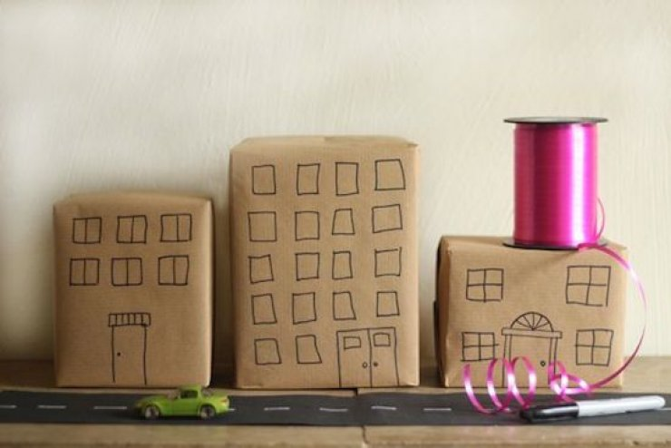 Gift Wrapping Ideas Mommo Design