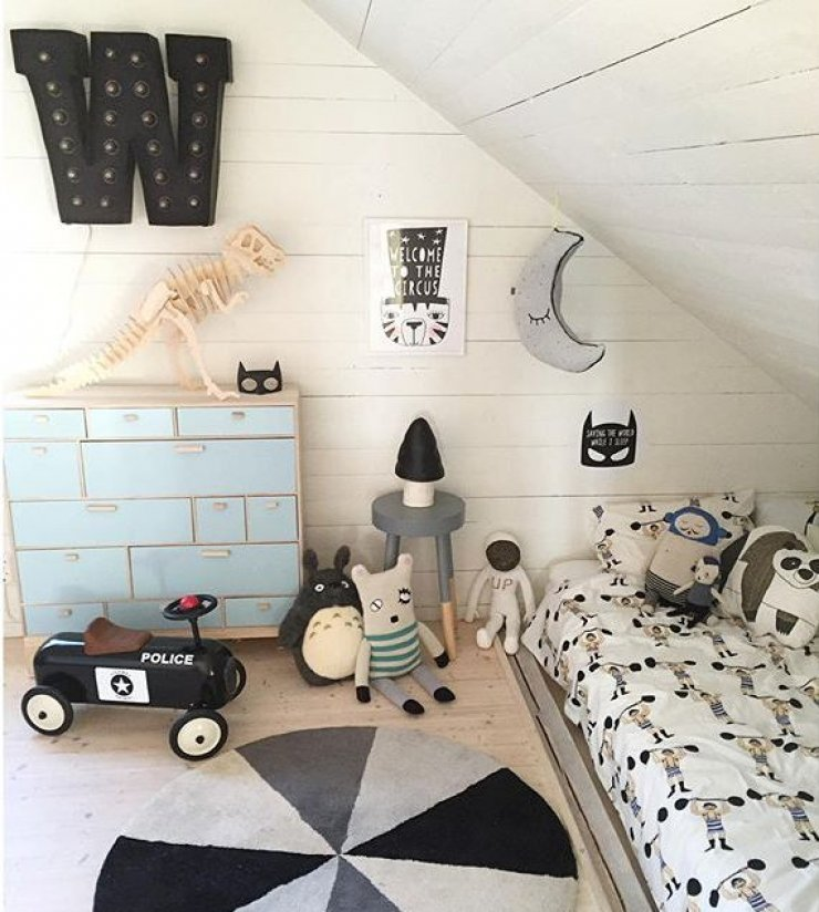 Children S And Kids Room Ideas Designs Inspiration: GREY IN KIDS' ROOMS