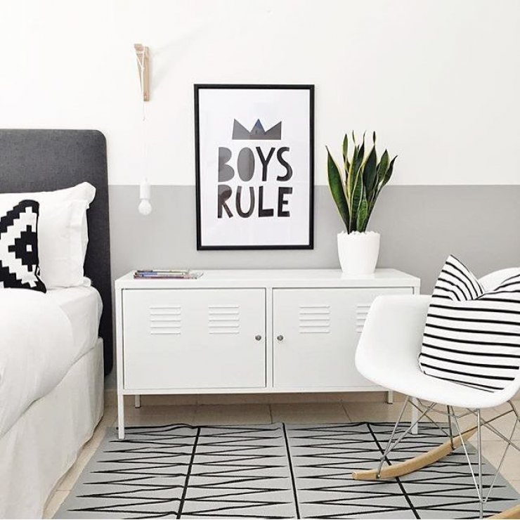 8 stylish ikea hacks for kids mommo design. Black Bedroom Furniture Sets. Home Design Ideas