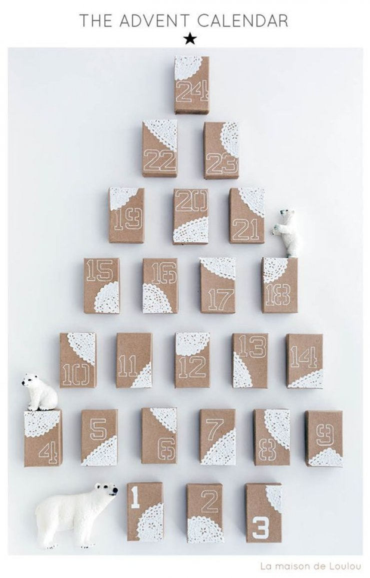 Calendar Advent Diy : Diy advent calendars mommo design