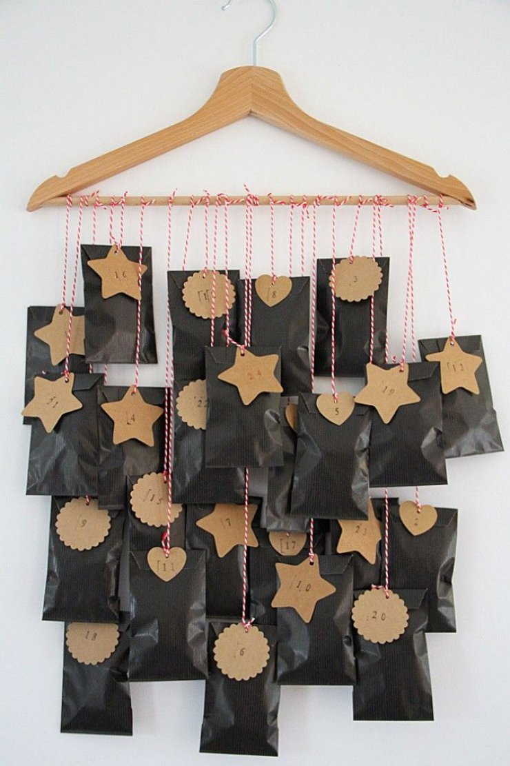 10 diy advent calendars mommo design - Pinterest advent ...
