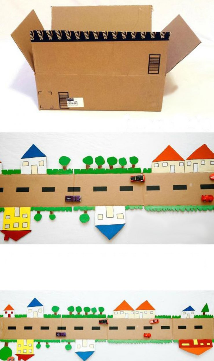 6 Diy Cardboard Toys Mommo Design